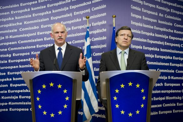 George Papandreou - Jose Manuel Barroso